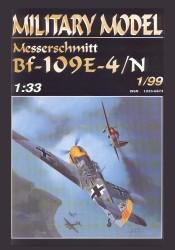 Bf-109E by Halinski
